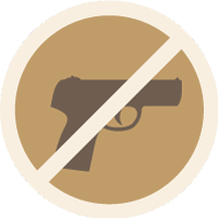 Anti-Gun Icon